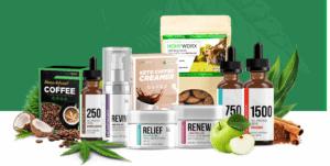 An image of HempWorx CBD Products