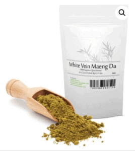 An image of White Vein Maeng Da Kratom