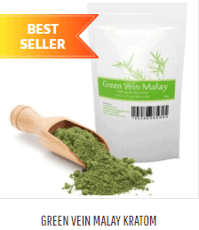 An image of green vein Malay Kratom that you can buy online