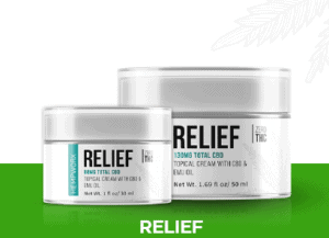 An image of Relief CBD topical