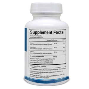 An image of one bottle of Keto Diet is a formula suppliment facts