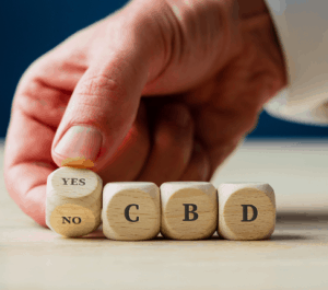 An image of illustration on the legality of cbd