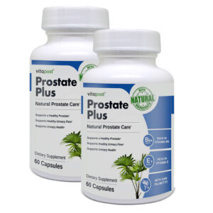 An image of two bottles of Prostate Plus