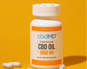 An image of CBD and weight loss - capsules