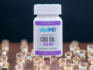 An image of CBD and weight loss - softgel