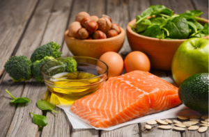 An image of balance diet - how to increase stamina